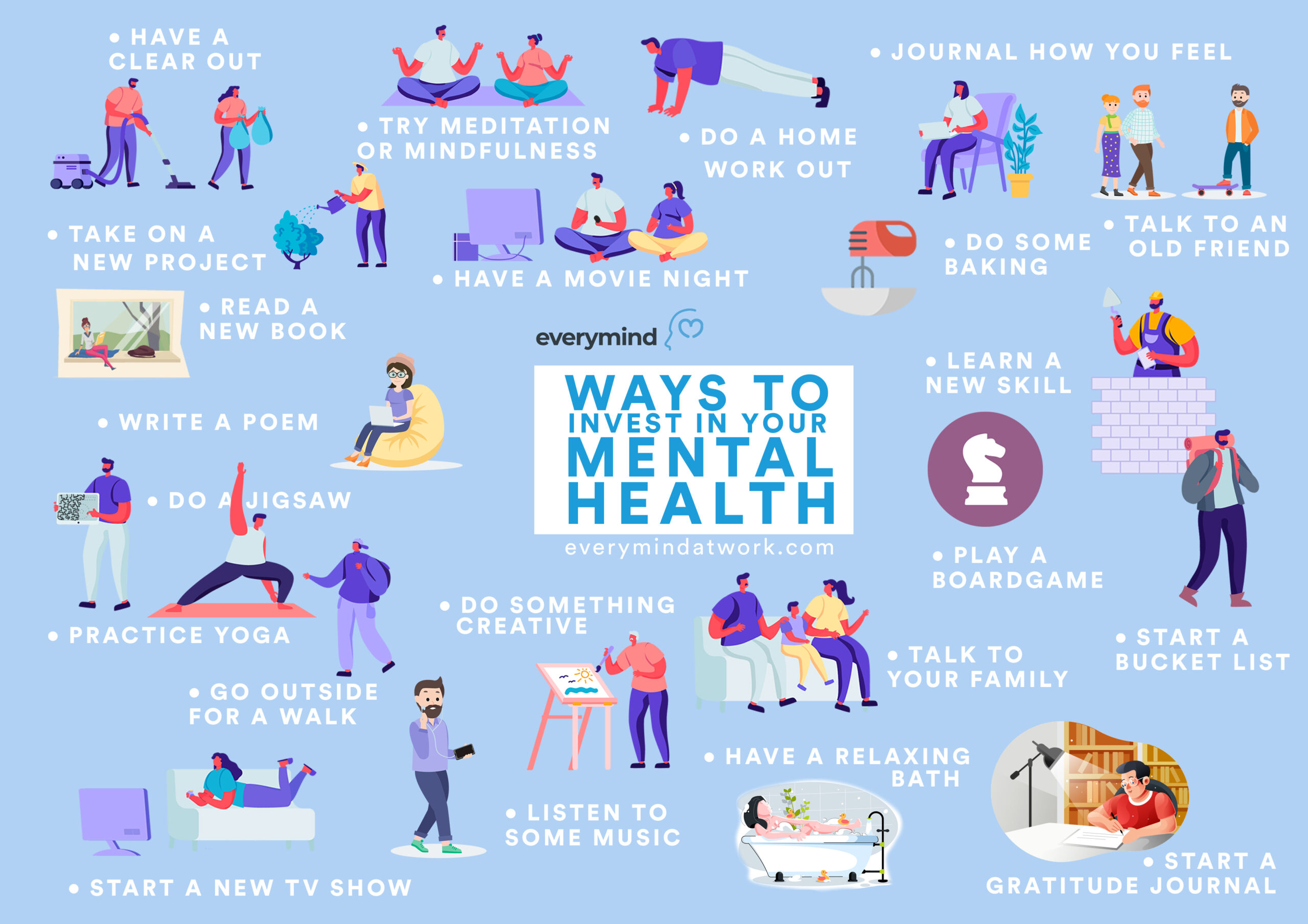 Way to invest in your mental health